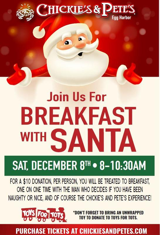 Breakfast with Santa | Egg Harbor Township