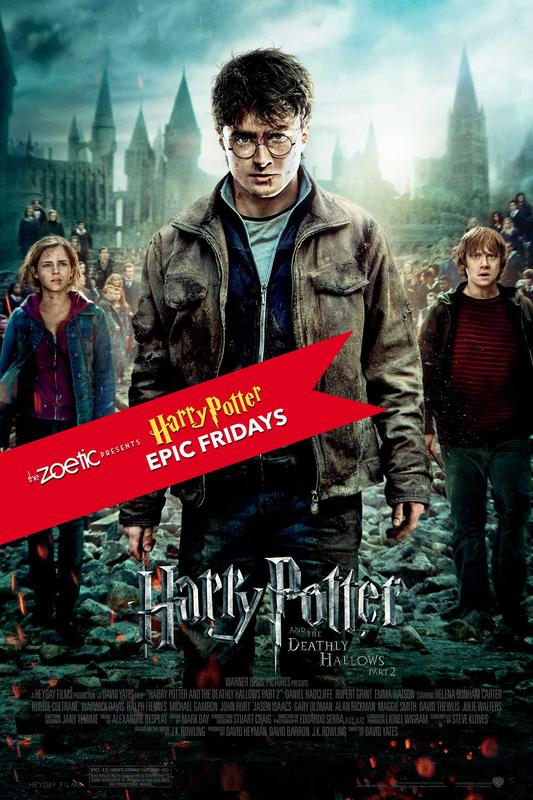 Harry Potter Epic Fridays: Harry Potter and the Deathly Hallows Part 2
