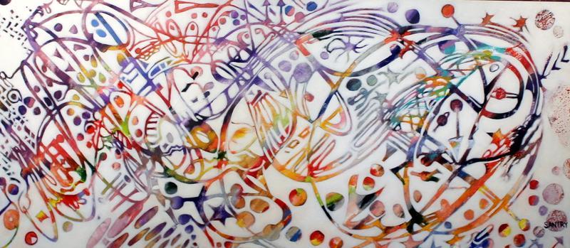 String Art @ John and Judy Gay