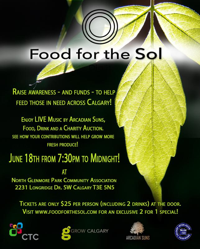 Food for the Sol 2016