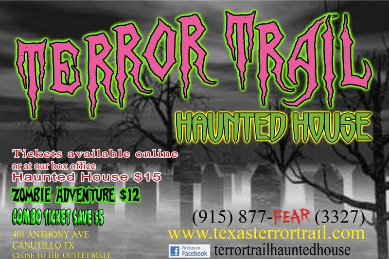 TERROR TRAIL HAUNTED HOUSE 2014