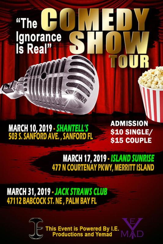 """The Ignorance Is Real"" Comedy Tour"