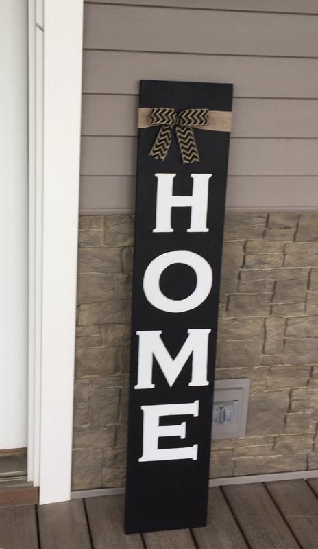 Home Porch Sign Class