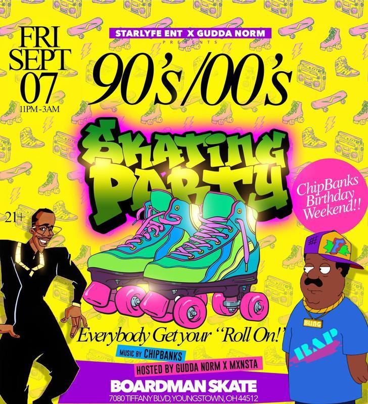 90's & 00's Skating Party