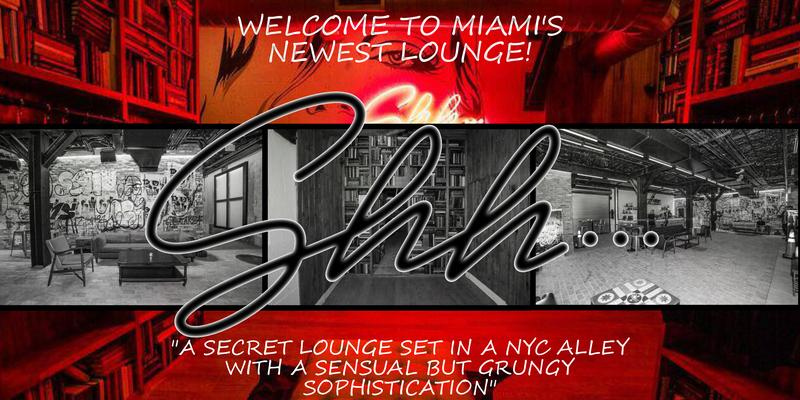Shh Lounge Special VIP Event Package