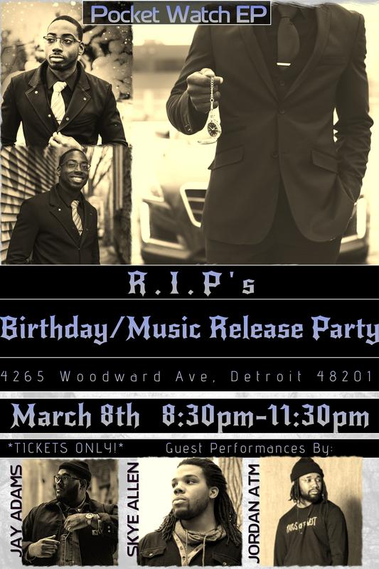 R.I.P's Birthday/Music Release Party