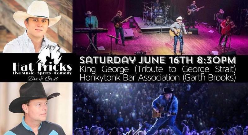 King George (George Strait) and Honkytonk Bar Association (Garth Brooks)