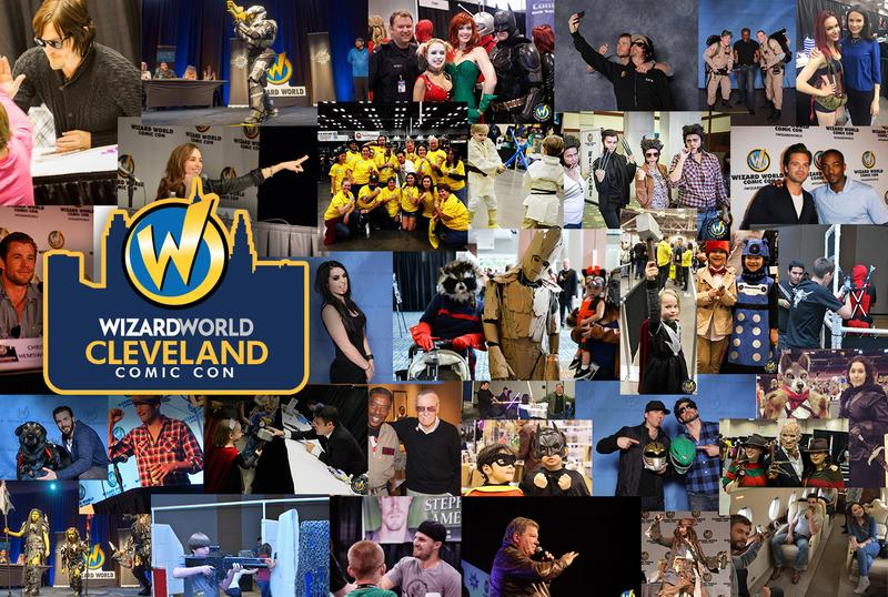 Wizard World CLEVELAND Comic Con & Gaming 2017 Admission