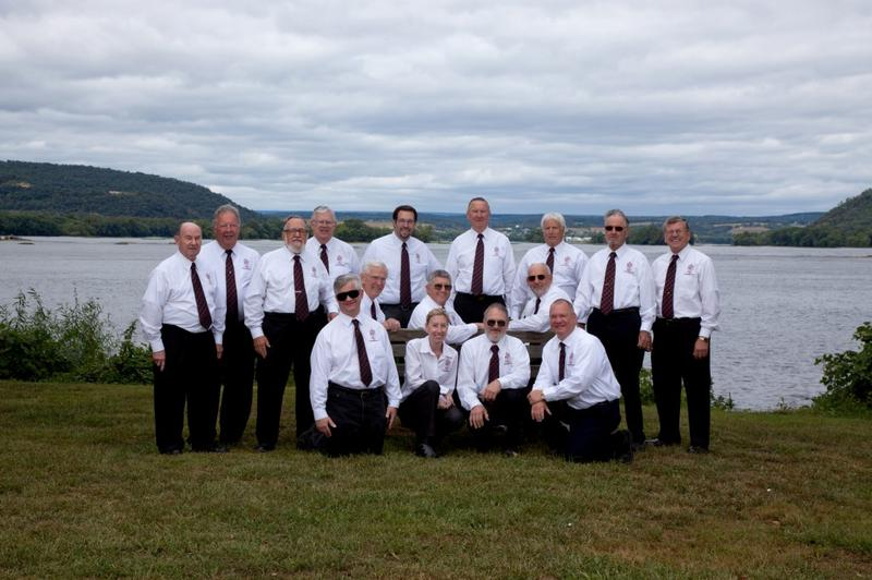 Men in Harmony at the DeSoto Amphitheater