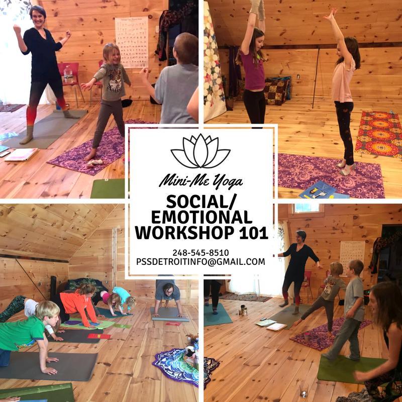 Social/Emotional Workshop 101 (Mini-Me Yoga)