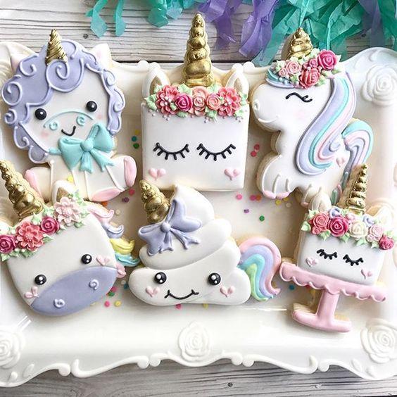 Unicorn Edible Treat Decorating