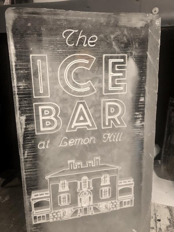 The Ice Bar at Lemon Hill Mansion