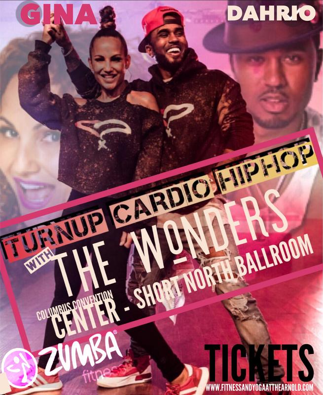Turn Up Hip-Hop Workshop and Zumba Master Class with the Wonders