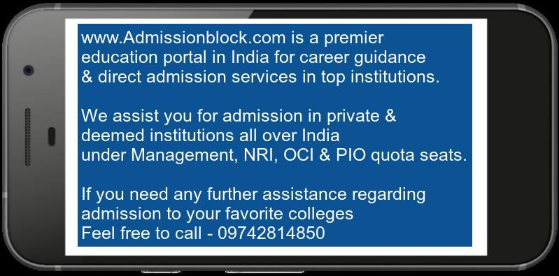 St. Joseph's College Bangalore Admission