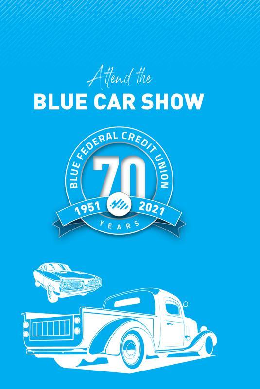 Blue Car Show