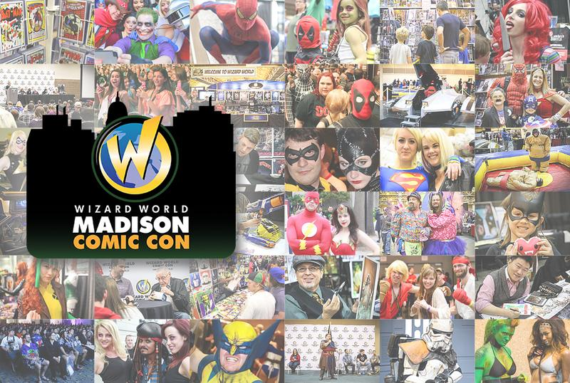 Madison Comic Con 2015 Wizard World VIP Package