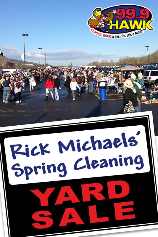 THE HAWK SPRING CLEANING YARD SALE