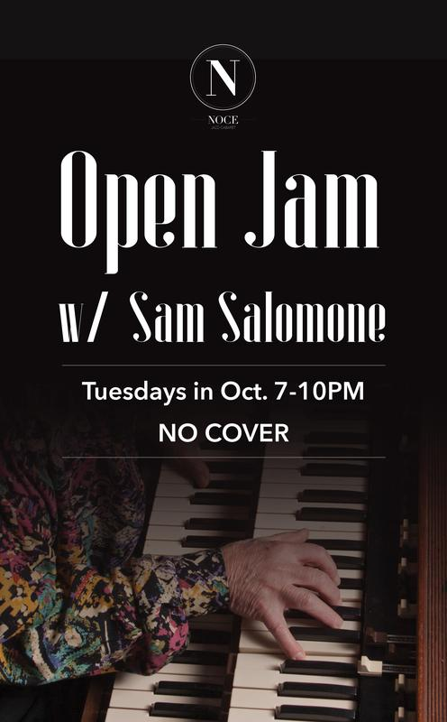 Open Jam w/ Sam Salomone