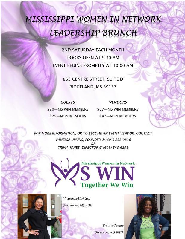 Mississippi Women in Network Leadership Brunch