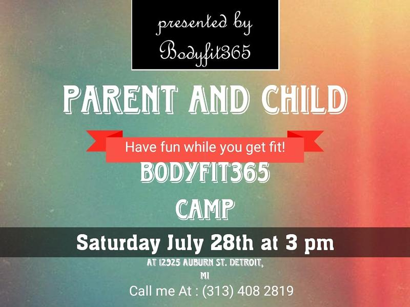 Parent and Kid fit camp