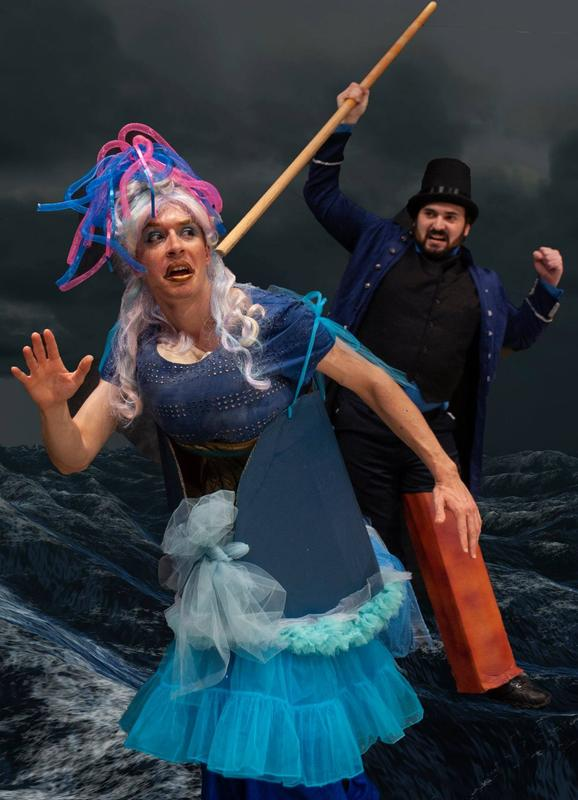 Moby Dick, the British Panto