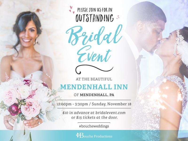 10th Annual Chester County's Bridal Showcase!