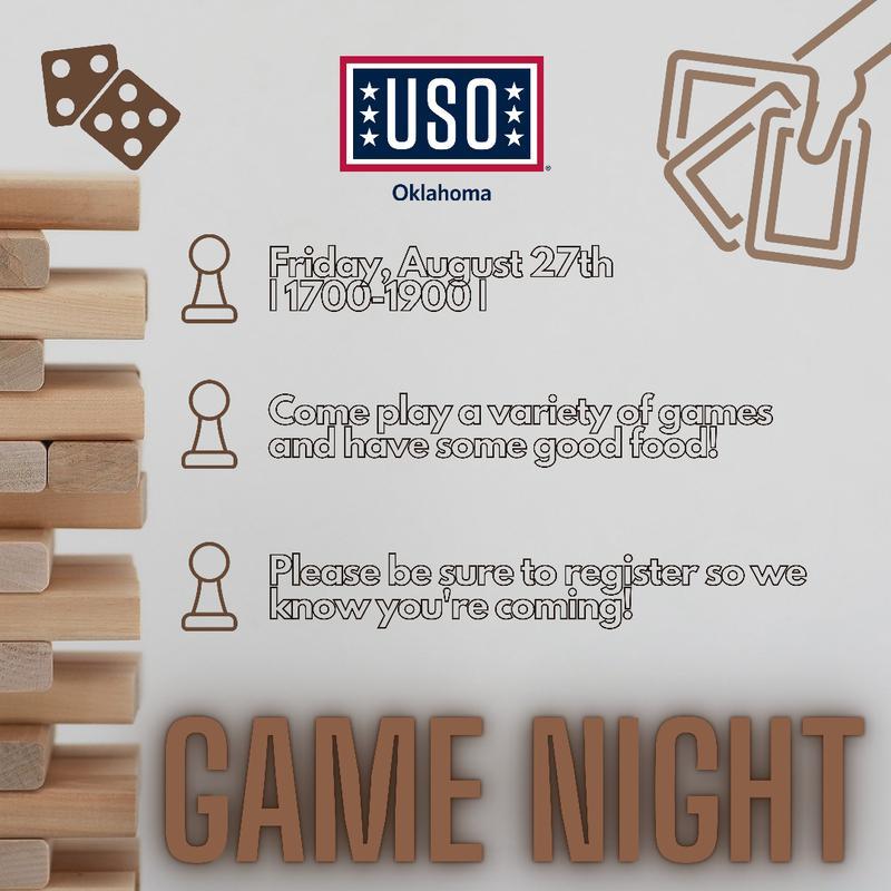 September Family Game Night