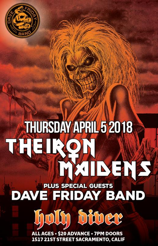 Dave Friday Band With The Iron Maidens
