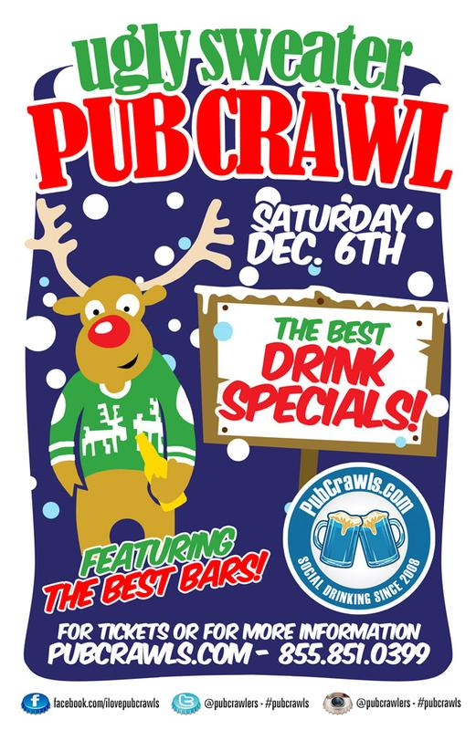 Ugly Sweater NYC PubCrawl