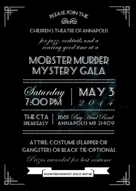 8th Annual Spring Gala: A Mobster Murder Mystery