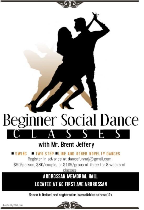 ARAS Beginner Social Dance Classes