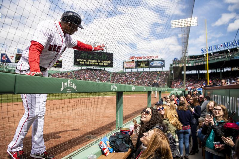 MDDS Day at Fenway in the New Dugout Seats