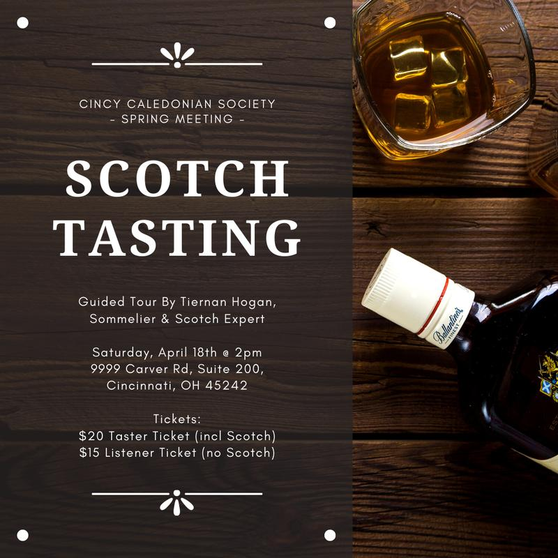 Spring Meeting Scotch Tasting