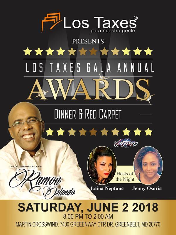 Los Taxes 2018 Red Carpet & Gala Awards Dinner