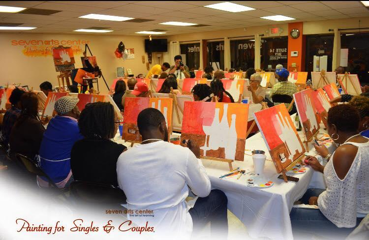 Group Special Rate Two Hour Painting Class
