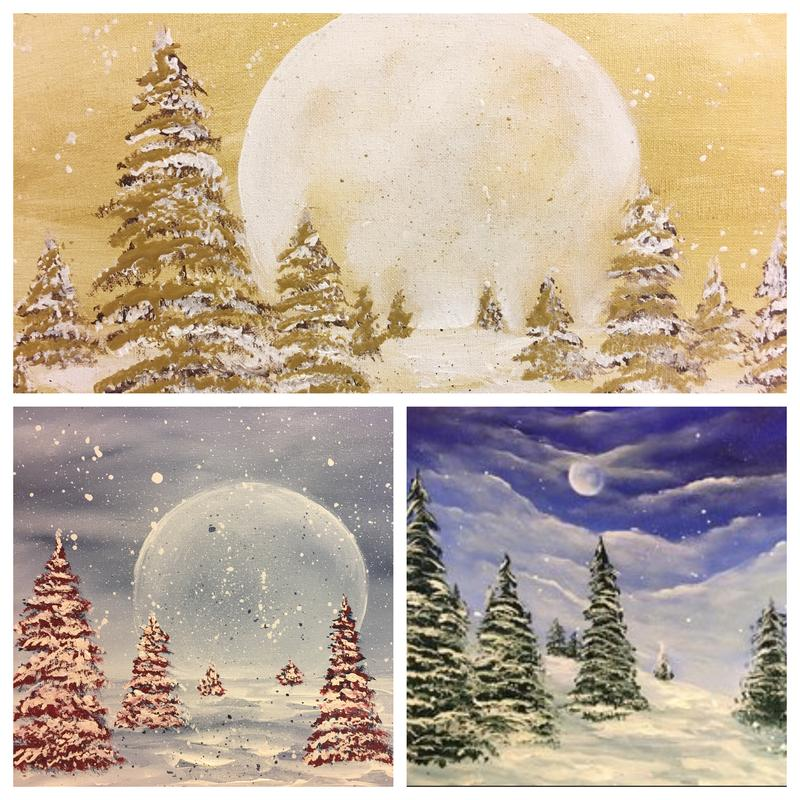 DECEMBER 14TH PAINTING NIGHT IN MILLER PLACE