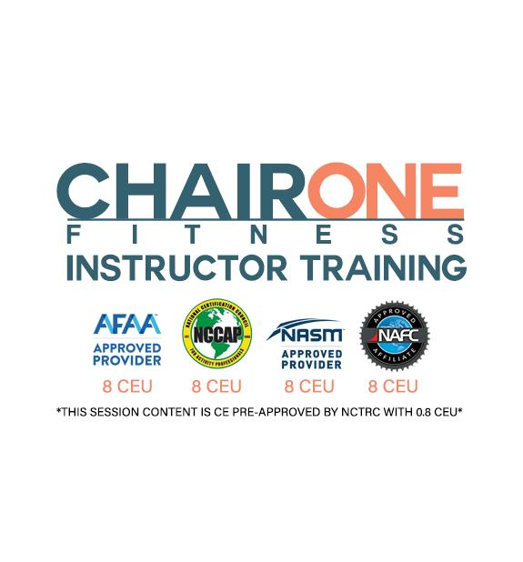 Chair One Fitness Instructor Training - Wisconsin
