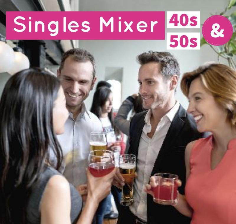 Singles Mixer 40s 50s +