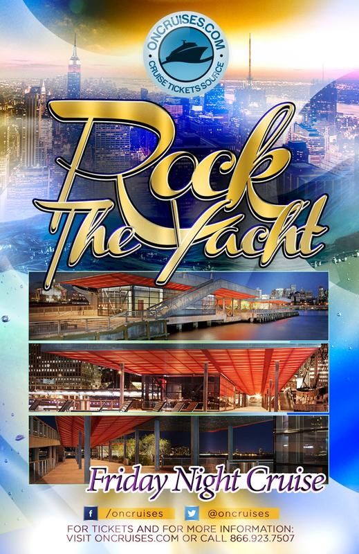 Rock the Yacht- Friday Night Party Cruise