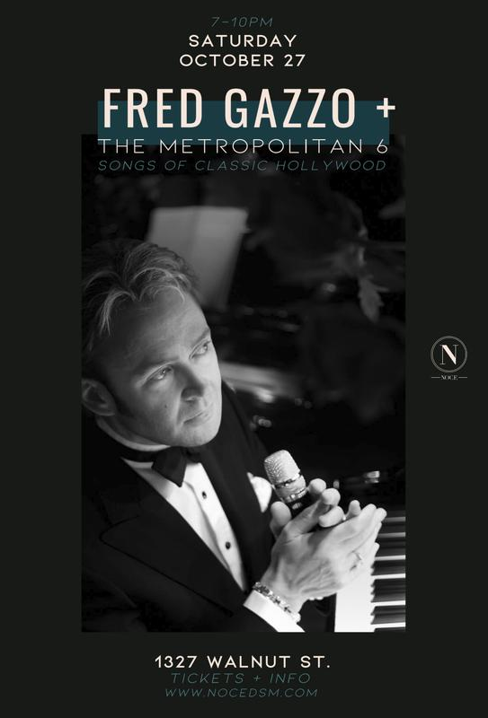 Fred Gazzo & The Metropolitan 6: The Songs Of Classic Hollywood