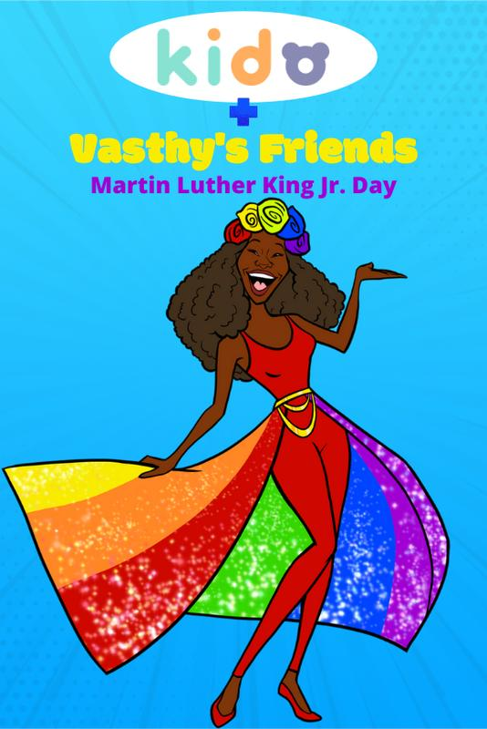 Vasthy's Friends - Martin Luther King Jr. Day