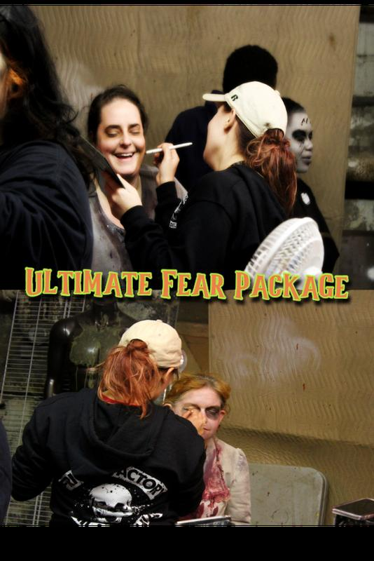 FRIGHT FACTORY ULTIMATE FEAR PACKAGE FOR TWO