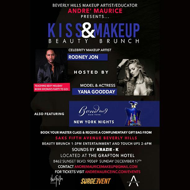 Kiss and Makeup Beauty Brunch