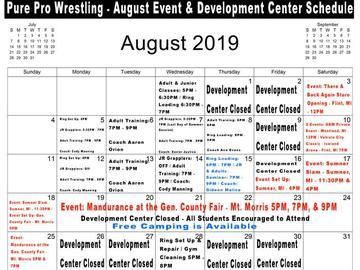 Adult Pro Wrestling Training - August Tickets in Flint, MI