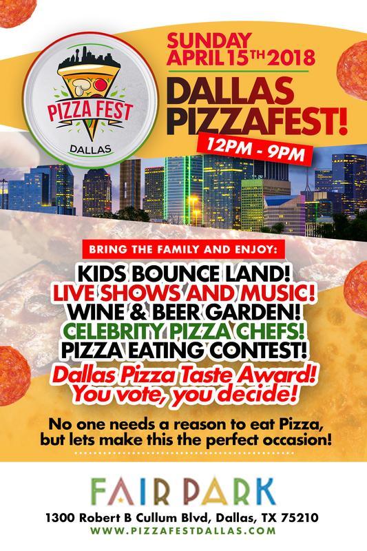 Dallas Pizza Fest 2018