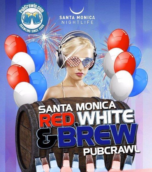 4th Of July Weekend Pub Crawl Santa Monica