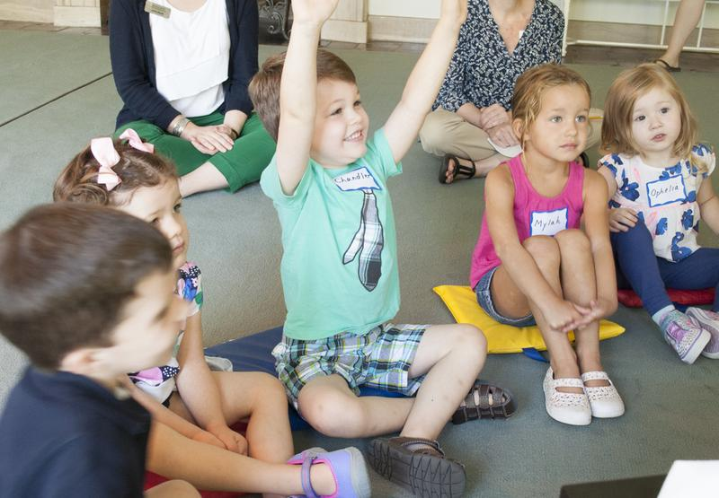 Pre-K at Reynolda: Mornings at the Museum: Session II (Spring 2017)