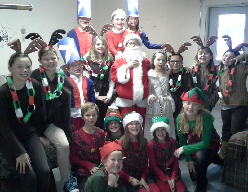 KidsACT 2016 Holiday Musical Class 1