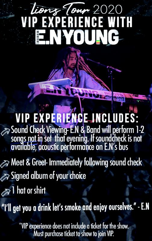VIP Meet and Greet w/ E.N Young in Seattle, WA