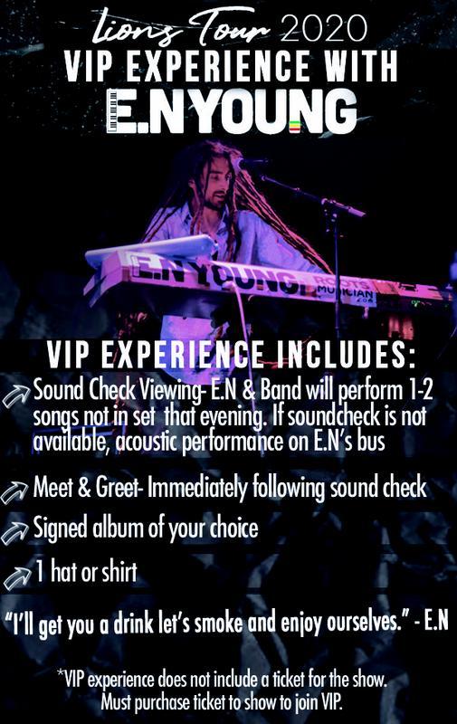 VIP Meet and Greet w/ E.N Young in Sacramento, CA